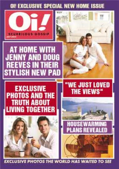 Oi! Magazine Exclusive Special Personalised Photo Upload New Home Card