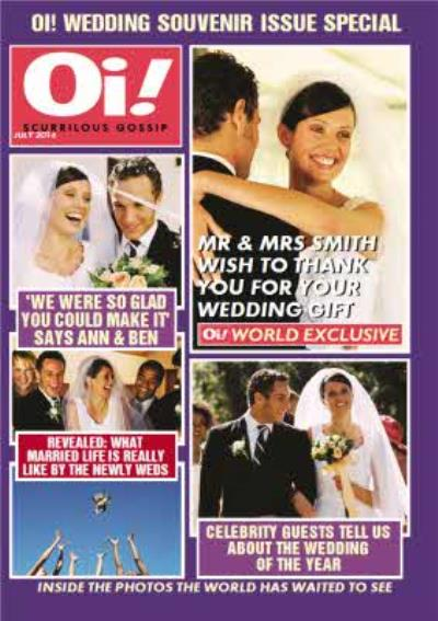 Oi! Tabloid Magazine Multi-Photo Upload Card