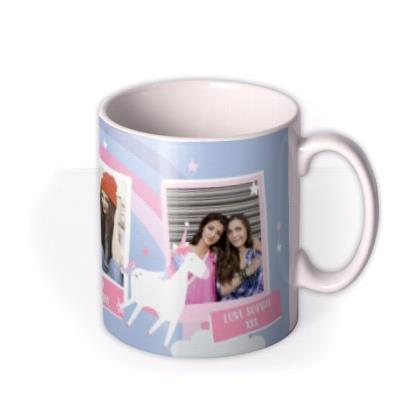 Rainbows And Unicorns Happy Birthday Mug
