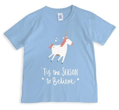 Christmas Unicorn T-shirt