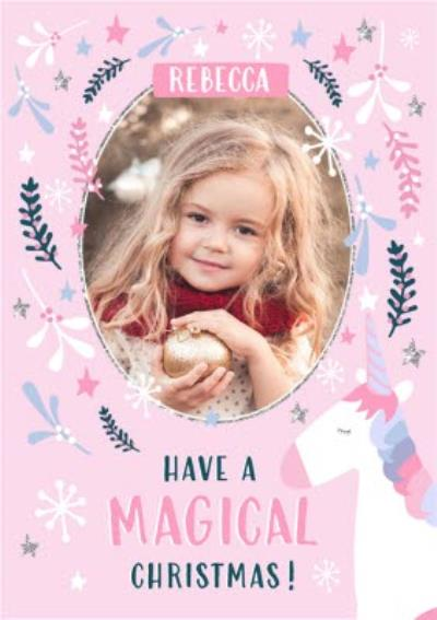 One Of A Kind Magical Photo Upload Card