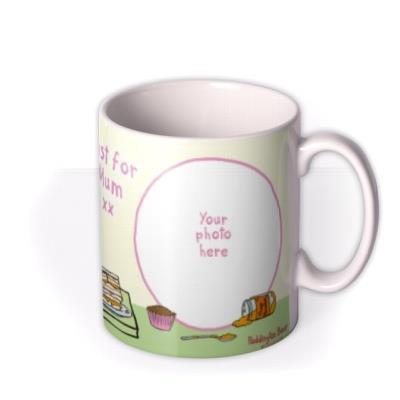 Mother's Day Paddington Bear Teatime Photo Upload Mug