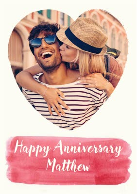 Anniversary Cards Personalised Anniversary Cards Moonpig