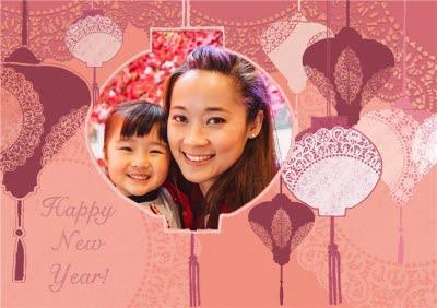 Photo Chinese New Year Card