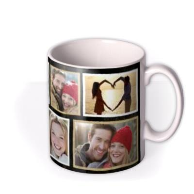 Valentine's Day Love You Tag Photo Upload Mug