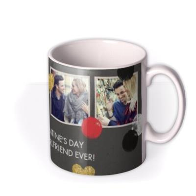 Valentine's Day Best Girlfriend Ever Photo Upload Mug