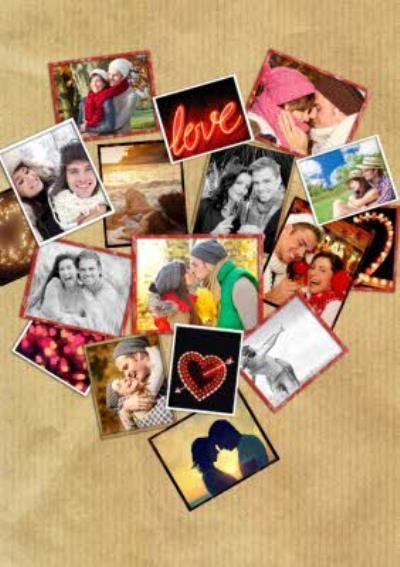 Photo Heart Anniversary Cards