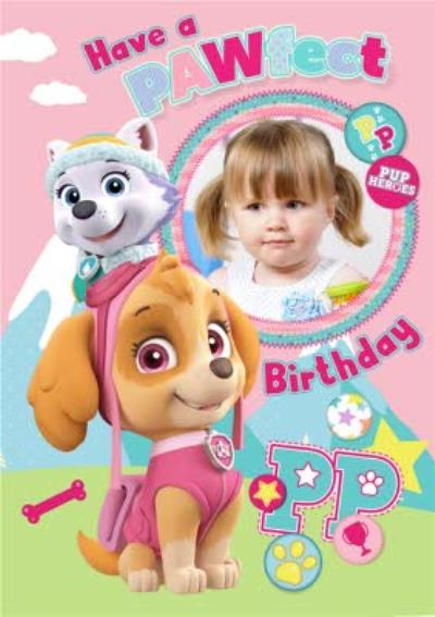 Photo Upload Paw Patrol Card