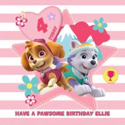 Have A Pawsome Birthday - Pay Patrol Birthday Card