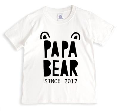 Father's Day T Shirt - Papa Bear - Bear