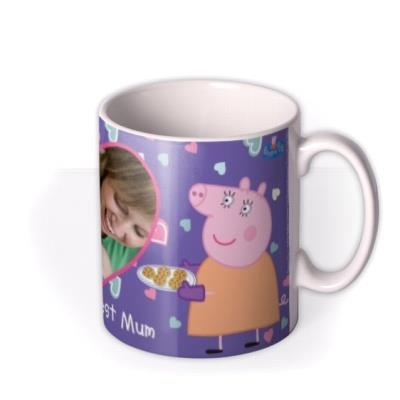 Mother's Day Peppa Pig Best Mum Photo Upload Mug