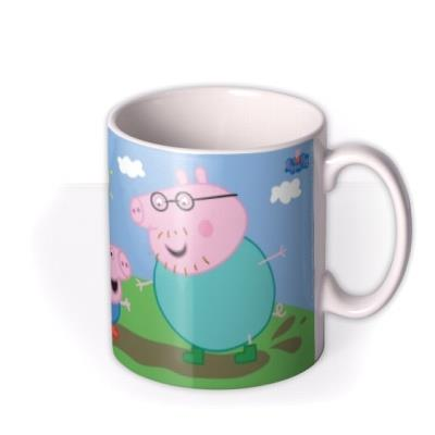 Father's Day Peppa Pig Daddy Personalised Mug