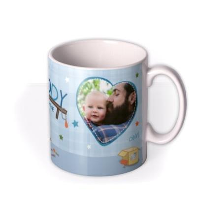 Father's Day Peppa Pig Best Daddy Photo Upload Mug