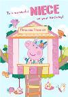 Peppa Pig Wonderful Niece Birthday Card