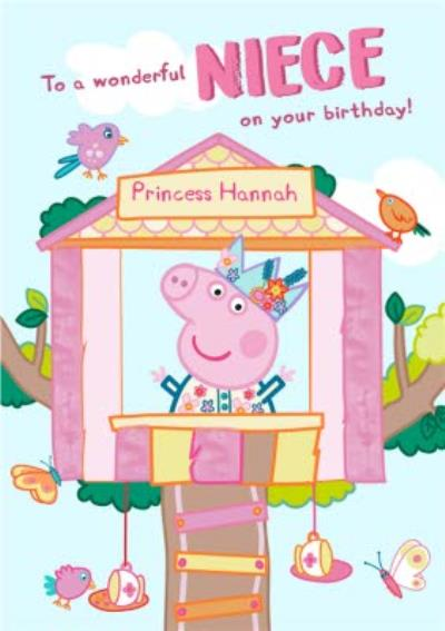Peppa Pig Wonderful Niece Birthday Card