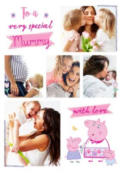 Peppa Pig To A Special Mummy Mother's Day Photo Card