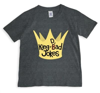 King Of Dad Jokes Father's Day T-Shirt