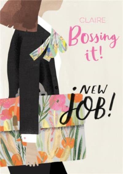 Pigment Hey Girl Bossing It New Job Card