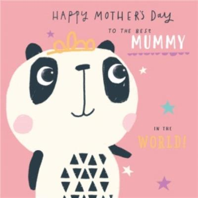 Pigment Kooky Sticks Best Mummy in the World Mother's Day Card