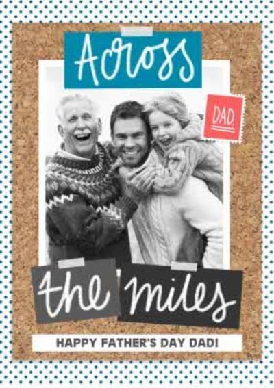 Across The Miles Photo Upload Card