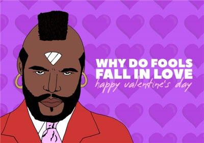Illustration Why Do Fools Fall In Love Card