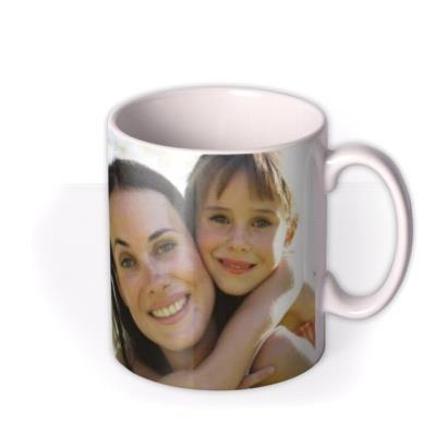Mother's Day Yellow Floral Photo Upload Mug