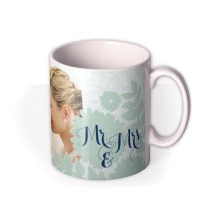 Mr. & Mrs. Photo Upload Mug