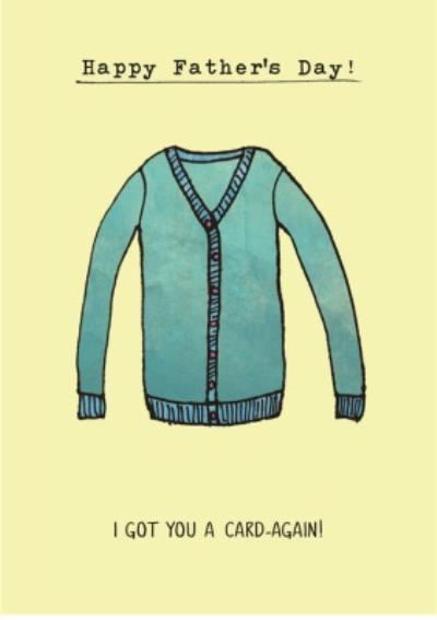 Happy Father's Day Cardigan Card