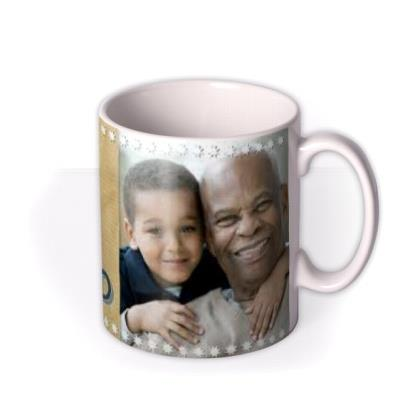 Father's Day Grand in Grandad Photo Upload Mug