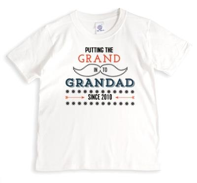 Father's Day Grand In Grandad Personalised T-shirt