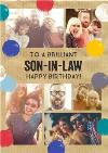Photo Upload Birthday Card - Son-In-Law