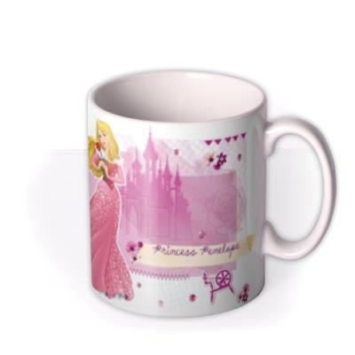 Disney Princess Aurora Photo Upload Mug