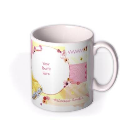 Disney Princess Belle Photo Upload Mug