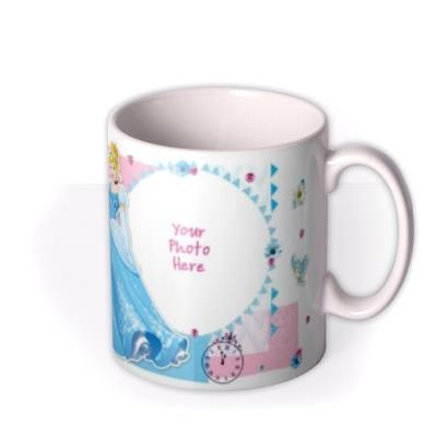 Disney Princess Cinderella Photo Upload Mug