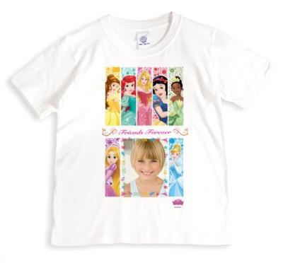 Disney Princess Friends Forever Photo Upload T-shirt