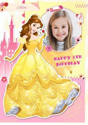 Disney Birthday Cards