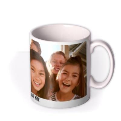Full Size Photo Upload Mug