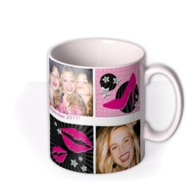 Hen Night Photo Upload Mug