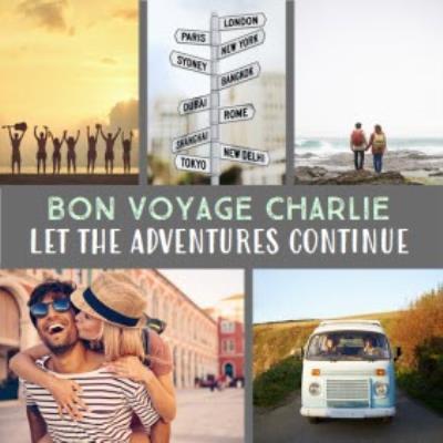 Bon Voyage Photo Upload Card