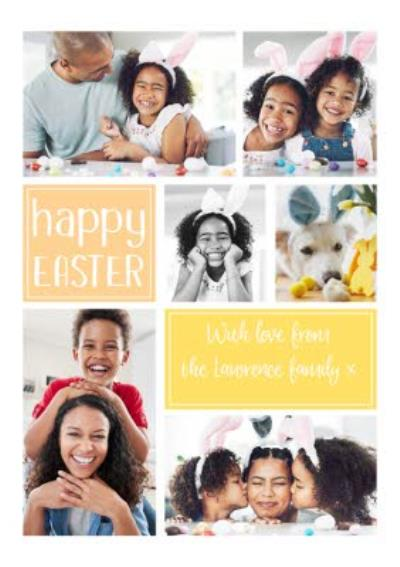 Easter Card - Photo Upload - From The Family