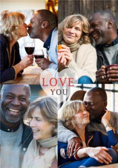 Love You Photo Upload Card