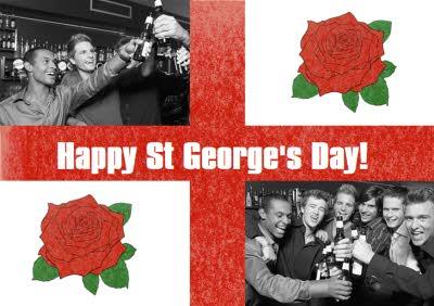 St George's Day Photo Card