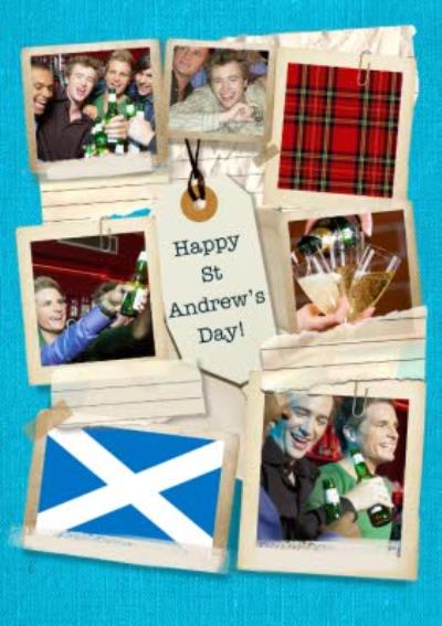 St Andrew's Day Photo Card