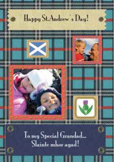St Andrew's Day Card