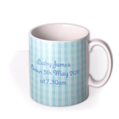 Baby Boy Photo Upload Mug