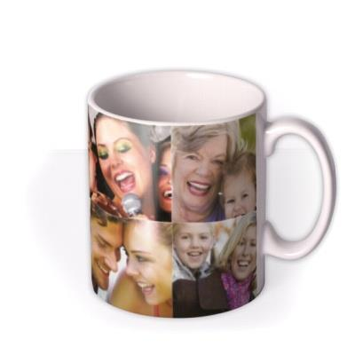 Photo Grid Photo Upload Mug