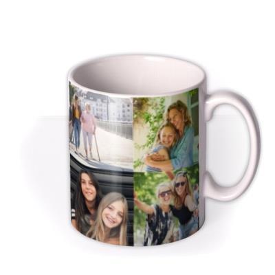 Photo Grid Photo Upload Mug