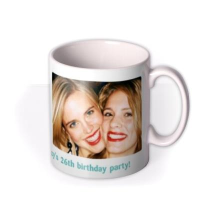 Rounded Edge Duo Photo Upload Mug