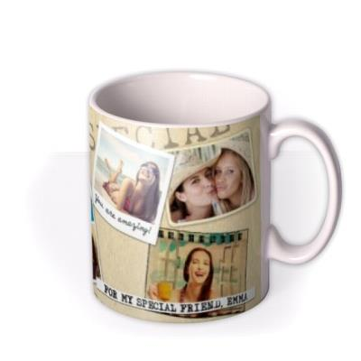 The Scrapbook Photo Upload Mug