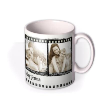 The 4 Photo Film Strip Photo Upload Mug